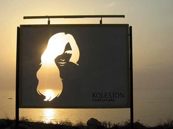 ilusion optica valla publicitaria koleston