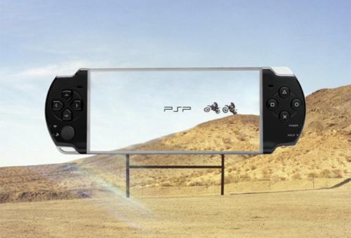 valla publicitaria PSP